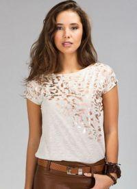 модные футболки лето 2015 5