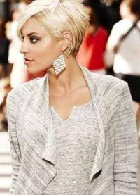 модные короткие стрижки 2015 7