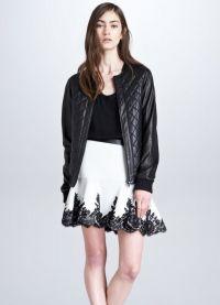 Модные кожаные куртки 2015 10