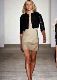Модные кожаные куртки 2015 5