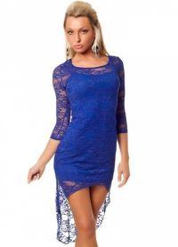 модные платья из гипюра 7.