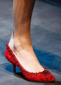 модные туфли весна 2015 5