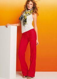 модные женские брюки весна 2015 7