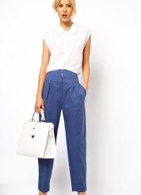 модные женские брюки весна 2015 9