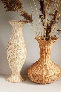 Напольные вазы своими руками