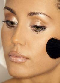 греческий макияж 1