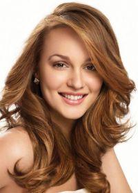 Укладки для волнистых волос средней длины