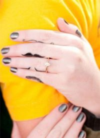 женские тату на пальцах рук 2