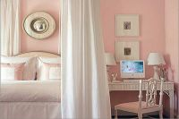 обои розового цвета для спальни 2