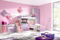 обои розового цвета для спальни 3