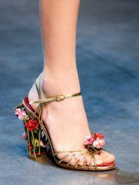 Обувь тенденции весна 2015 10