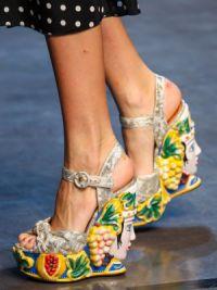 Обувь тенденции весна 2015 7