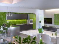 сочетание цветов в интерьере кухни 5