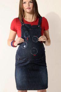 Куплю джинсовый сарафан комбинезон для беременных