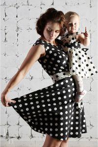 одинаковая одежда мама и дочка1