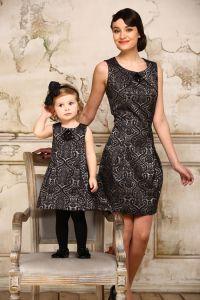 одинаковая одежда мама и дочка3