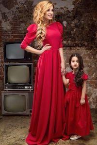 одинаковая одежда мама и дочка4
