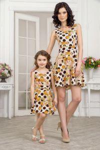 одинаковая одежда мама и дочка5