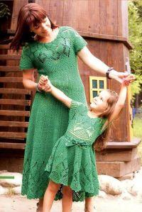 одинаковая одежда мама и дочка8
