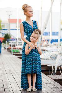 одинаковая одежда мама и дочка9