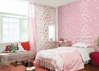 Оформление комнаты обоями двух цветов8