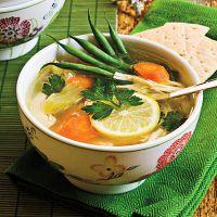 греческий лимонный суп
