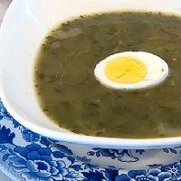как приготовить зеленый борщ со шпинатом