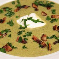 овощной суп с зеленой фасолью