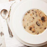 рецепт супа пюре из шампиньонов