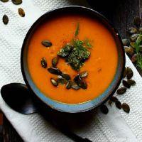 суп пюре из тыквы постный
