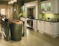 оливковый цвет в интерьере кухни2