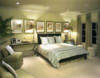 оливковый цвет в интерьере спальни1