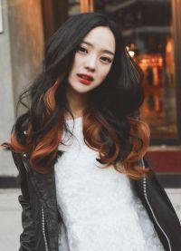 омбре на волосах8