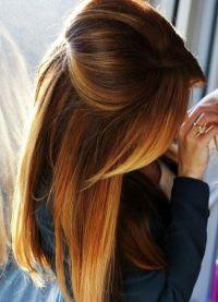 омбре на волосах9