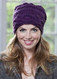 оригинальные вязаные шапки для женщин4