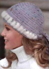 оригинальные вязаные шапки для женщин7