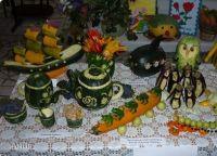 осенние поделки из овощей5