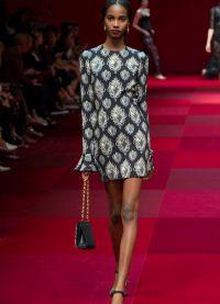 платье Дольче Габбана 2015 2