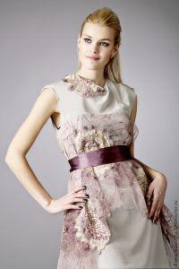 Платье с кружевом 9