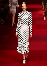 платье в горох 2015 1