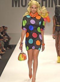 платье в горох 2015 11