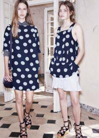 платье в горох 2015 12
