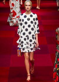 платье в горох 2015 3