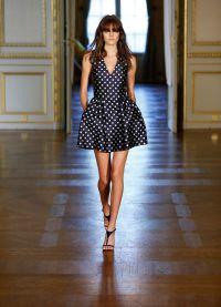 платье в горох 2015 4