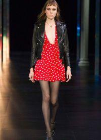 платье в горох 2015 5
