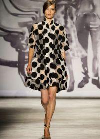 платье в горох 2015 9