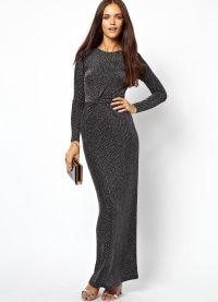 платья в пол 2015 8