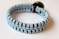 плетение браслетов из шнурков4