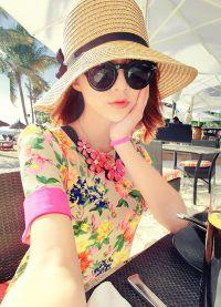 пляжные шляпы 2015 5