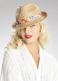 пляжные шляпы 2015 6